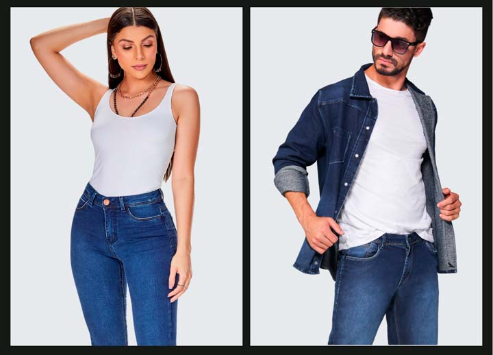 loofting jeans wear dna personalidade