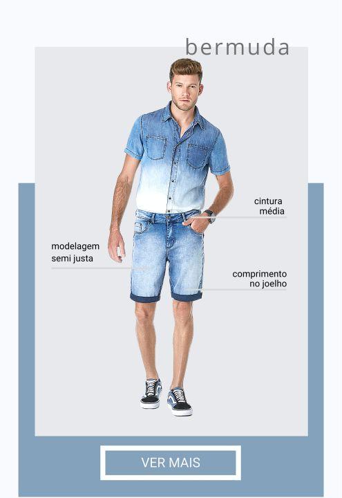 looftinjeanswear fits FIT BERMUDA MASC 5
